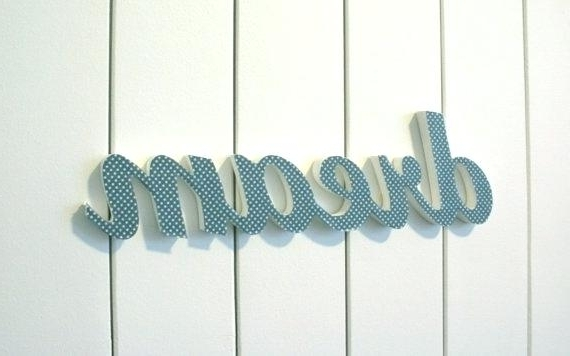 Words For Wall Art – Manymany With Regard To Recent Wooden Words Wall Art (View 14 of 15)