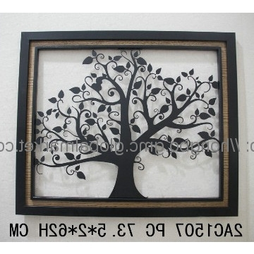 Wrought Iron Tree Wall Art Inside Best And Newest 2Ac1507, China Decorative Wrought Iron Tree Wall Art Manufacturer (View 11 of 15)