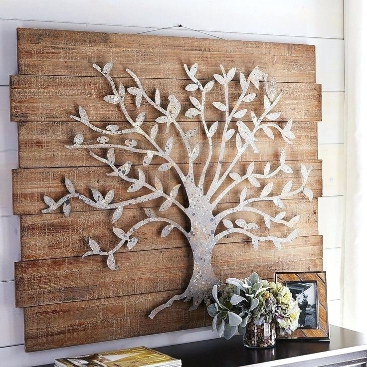 Wrought Iron Tree Wall Art With Popular Rod Iron Tree Wall Decor Antique Decorative Metal Art Fancy Wrought (View 8 of 15)