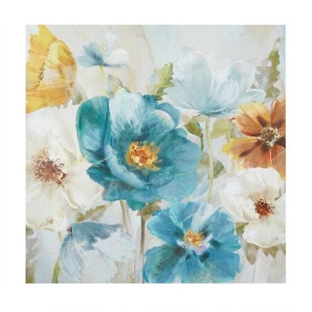 Yellow And Blue Wall Art for Recent Sofa. Wall Art Yellow And Blue - Best Home Decoration Tips