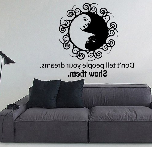Yin Yang Wall Art For Fashionable Yin Y Cool Yin Yang Wall Decor – Wall Decoration And Wall Art Ideas (View 15 of 15)
