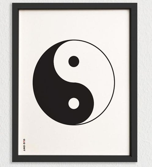 Yin Yang Wall Art For Well Liked Buy Two Gud Yin And Yang Wall Art Online – Wall Posters – Decor (View 14 of 15)