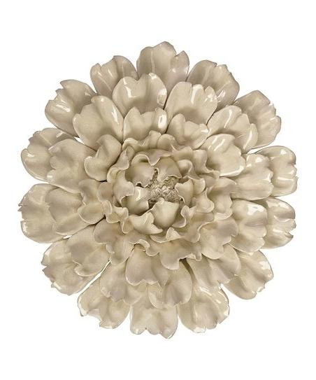 Zulily Inside 2018 Ceramic Flower Wall Art (View 6 of 15)