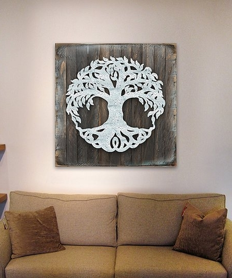 Zulily Pertaining To Fashionable Celtic Tree Of Life Wall Art (View 15 of 15)