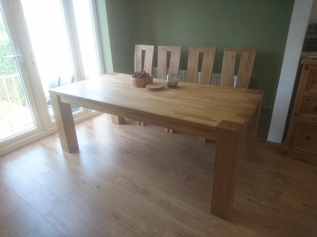 10 Seat Dining Tables And Chairs Within Most Up To Date 8  10 Seats Solid Oak Dining Table (View 6 of 25)