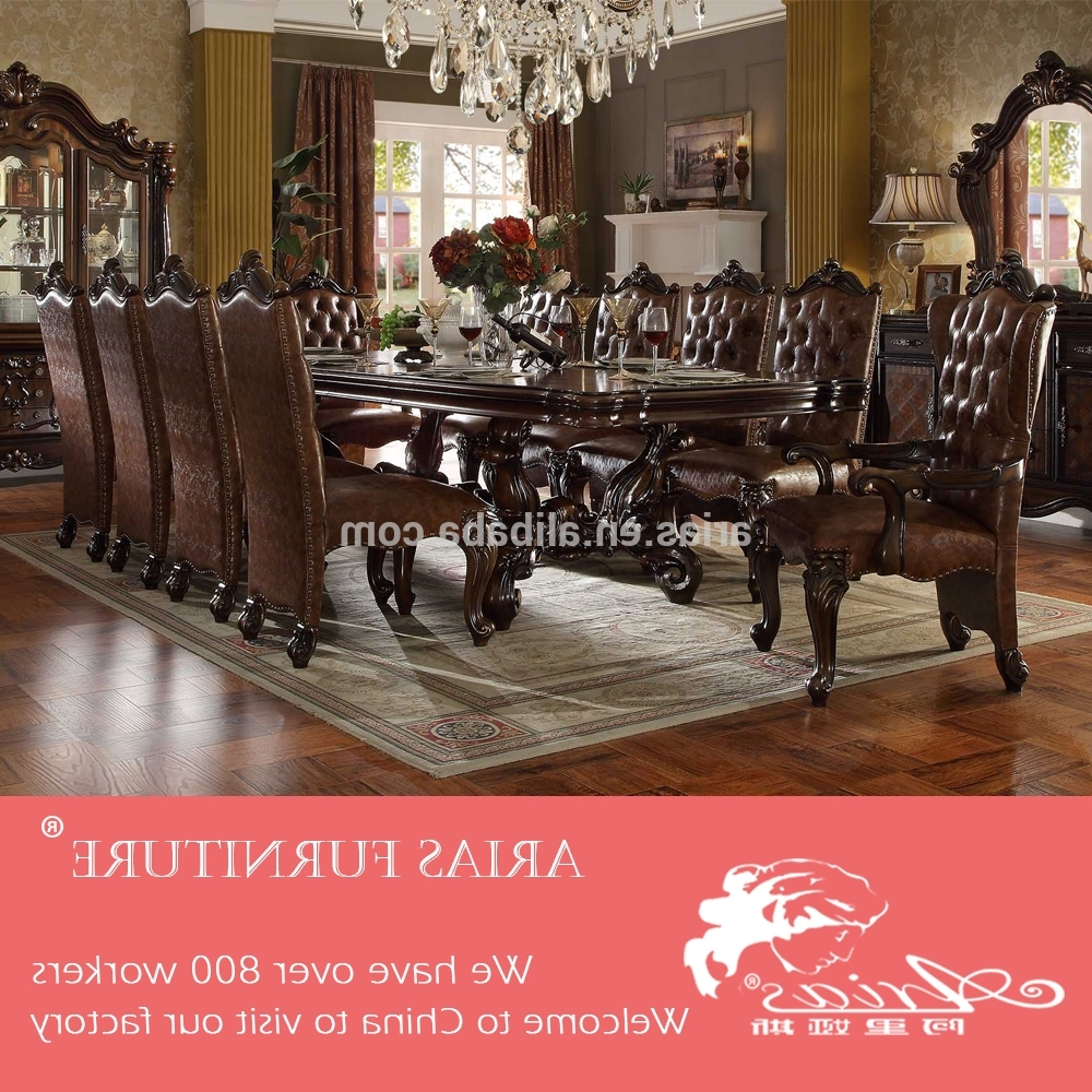 10 Seater Dining Tables And Chairs In 2017 American Style 10 Seater Dining Table – Buy American Style 10 Seater (Gallery 7 of 25)