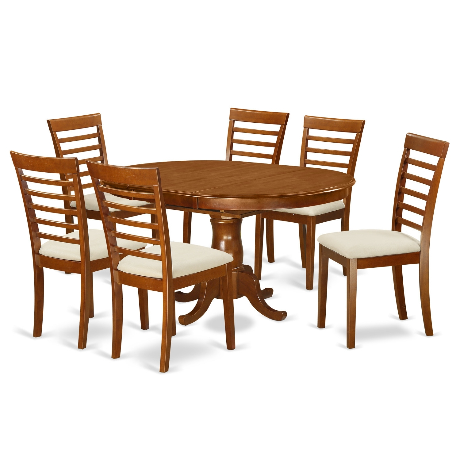 100 K House: Loon Peak Matterhorn 7 Piece Dining Set Amp; Reviews Regarding Widely Used Bradford 7 Piece Dining Sets With Bardstown Side Chairs (View 1 of 25)