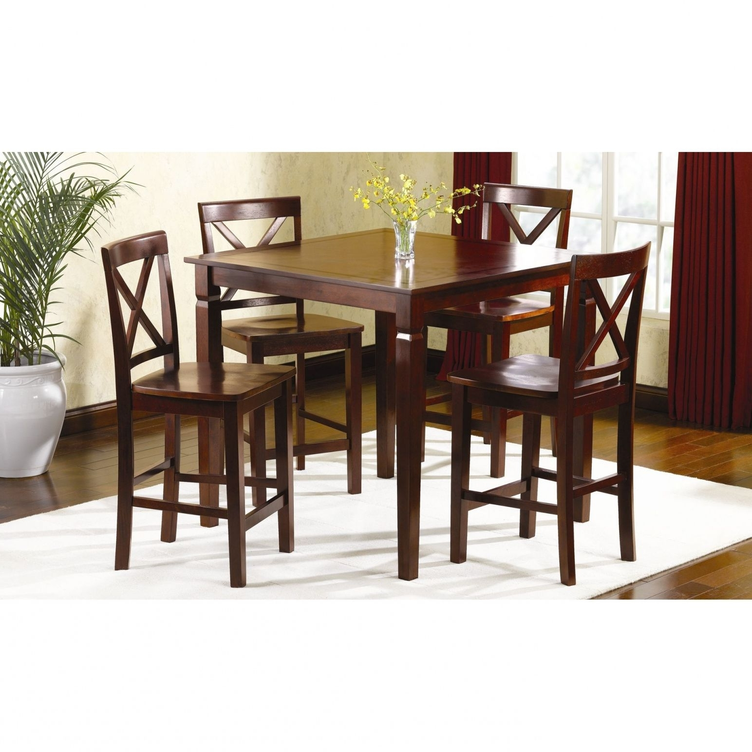 100+ Kmart Kitchen Tables And Chairs – Kitchen Design Ideas Images Throughout Best And Newest Pierce 5 Piece Counter Sets (View 1 of 25)