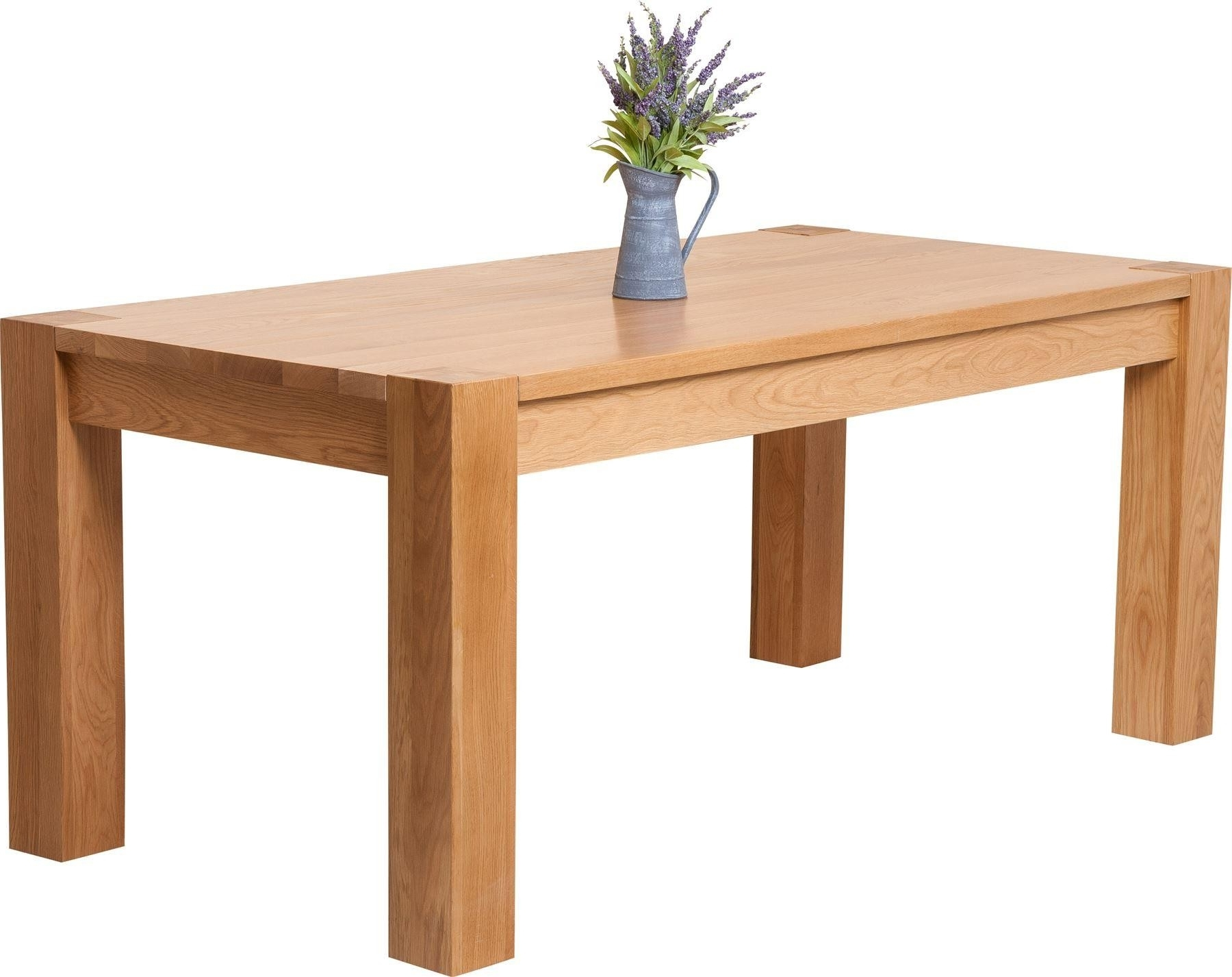 180Cm Dining Tables In Current Kuba 180Cm Solid Oak Dining Table (Gallery 13 of 25)