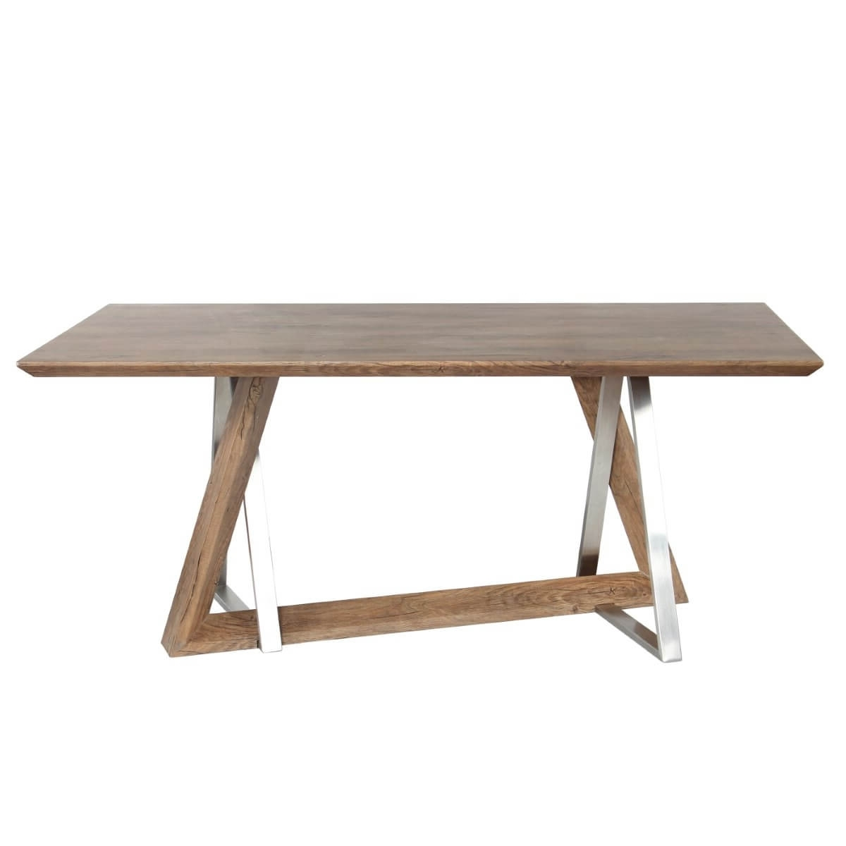 180Cm Dining Tables Within Most Recently Released Dining Tables – Industrial Style Wood Dining Table 901 15  (View 20 of 25)