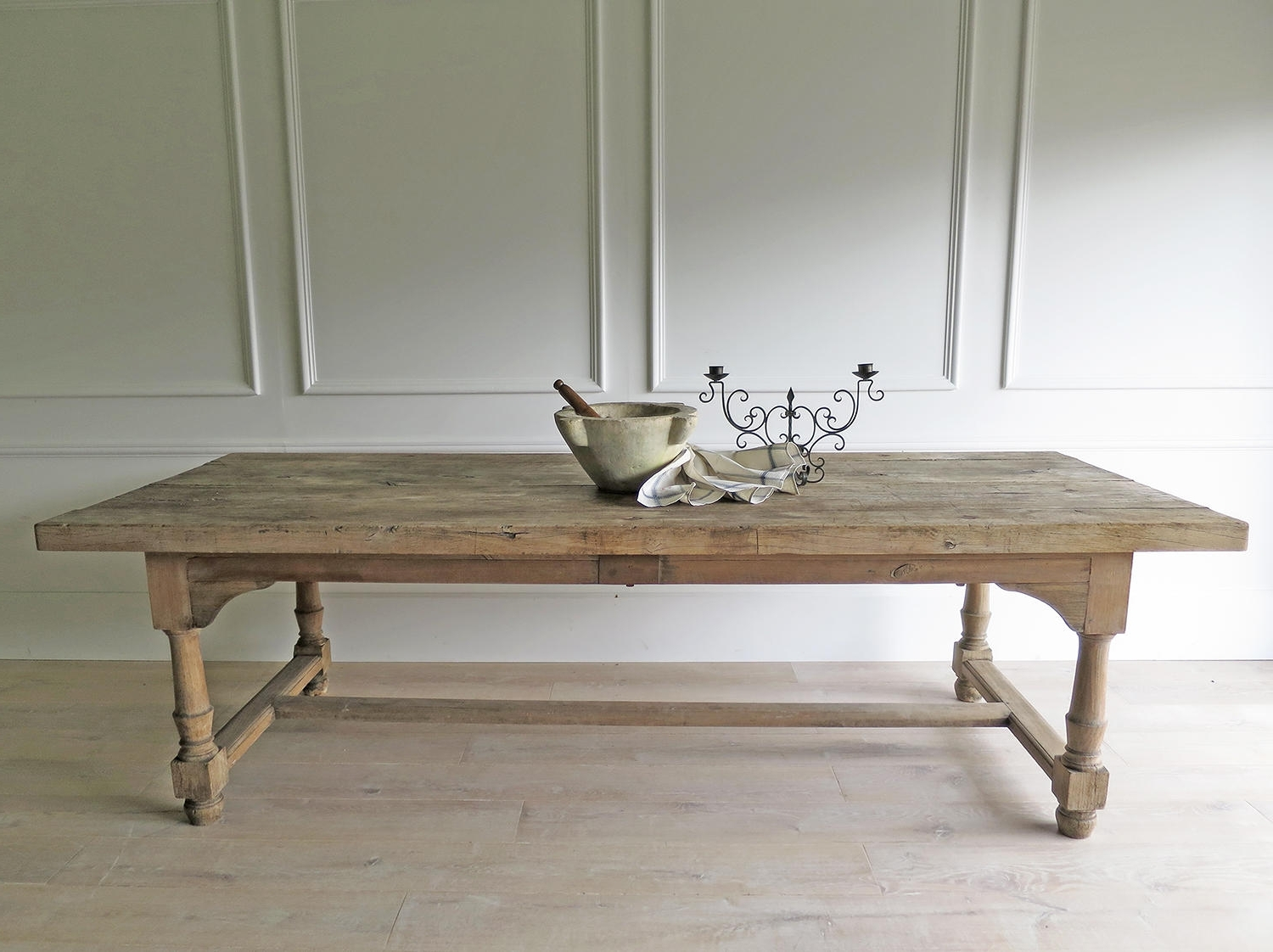 18Th C French Farmhouse Dining Table – Circa 1790 In Antique Tables Throughout Fashionable French Farmhouse Dining Tables (Gallery 3 of 25)