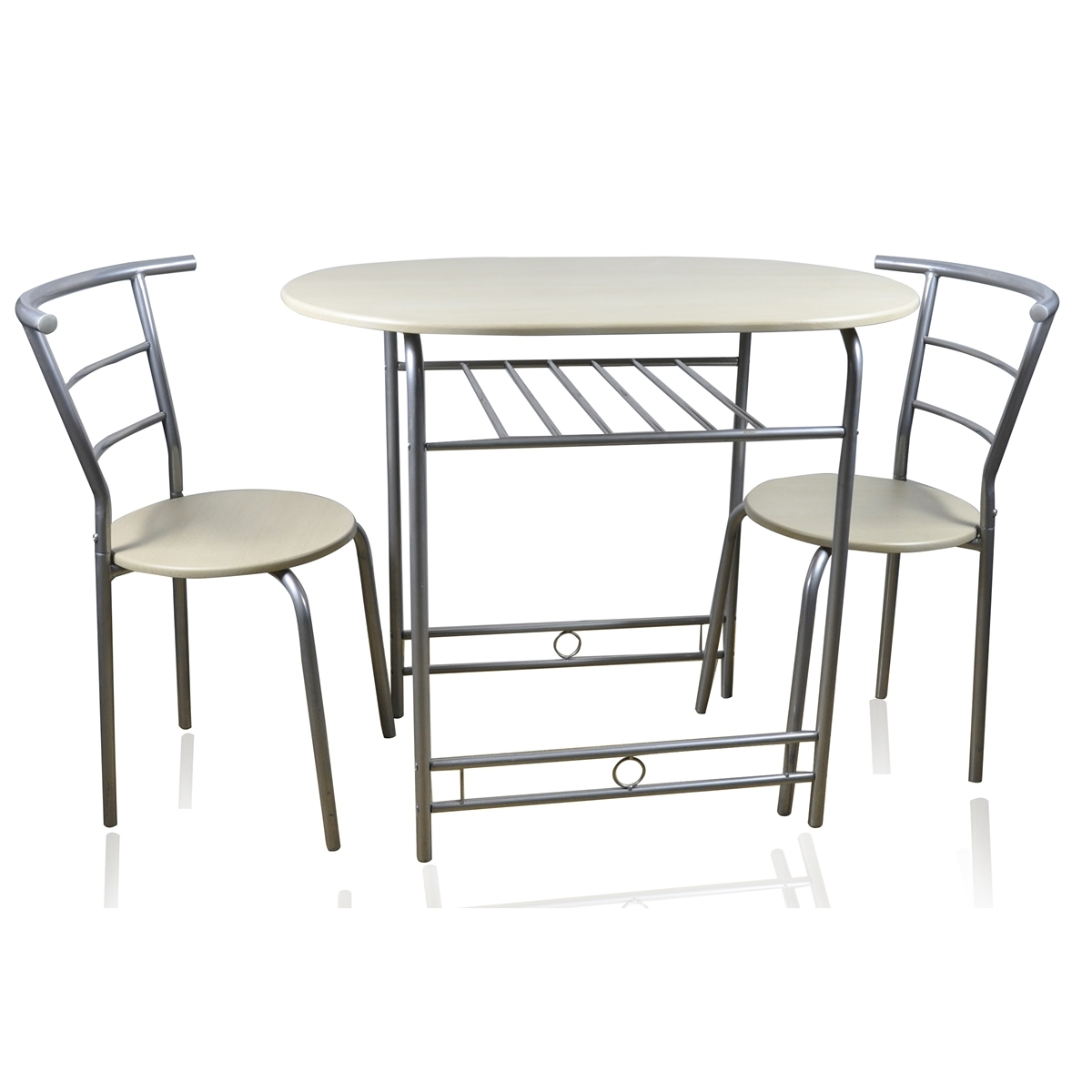 2 Seater Dining Table And Chairs Gallery Dining Modern Leather for Well-liked Two Seater Dining Tables And Chairs
