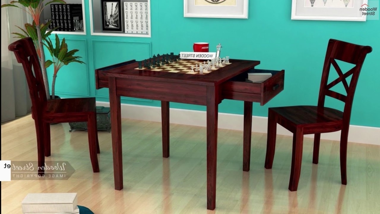 2 Seater Dining Table Sets  Shop Trendy Two Seater Dining Table Sets Inside Latest Two Seater Dining Tables (View 4 of 25)