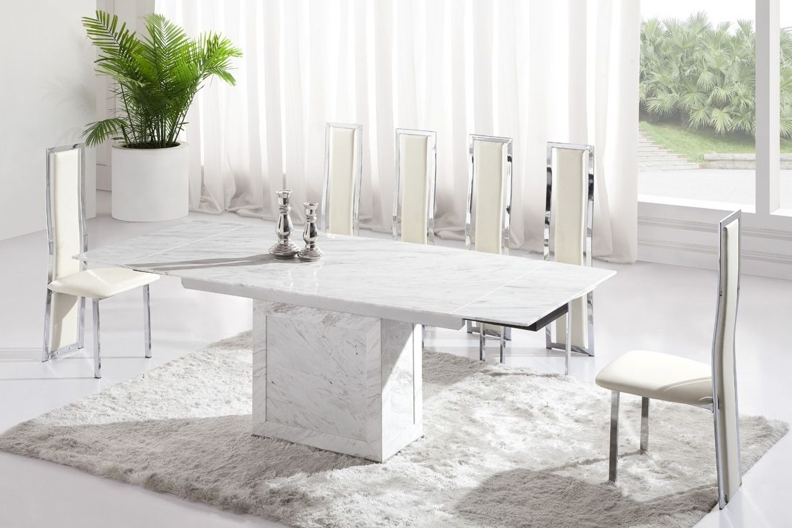 2. Solid Marble Dining Table 4X8 W Emerald Border Youtube And Also Regarding Most Popular Solid Marble Dining Tables (Gallery 11 of 25)