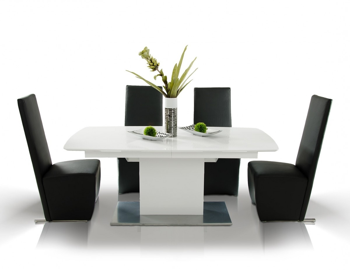 2017 Armani Aa818 265 Crocodile Modern Dining Table For Cream Lacquer Dining Tables (View 12 of 25)