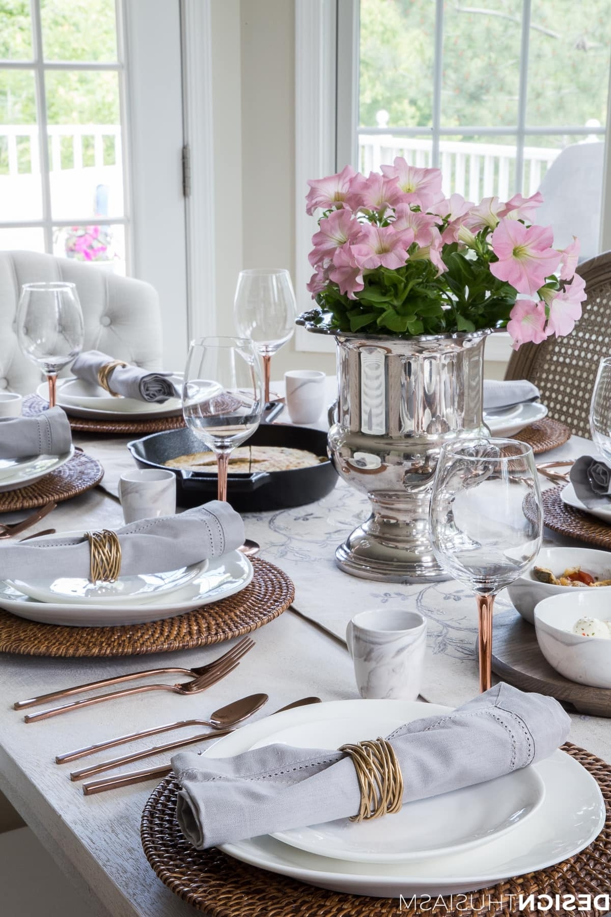 2017 Artisanal Dining Tables With Regard To Staycation Ideas: Set An Artisanal Table For A Pampered Vacation At Home (View 22 of 25)