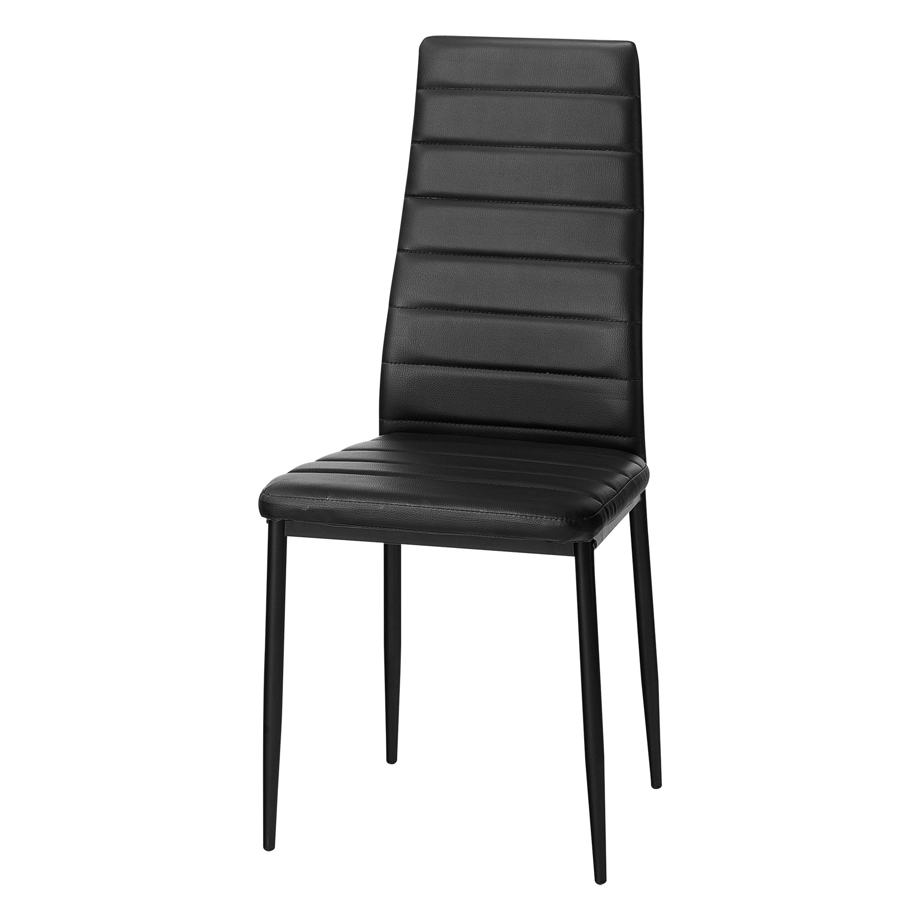 2017 Black Dining Chairs Throughout Inari Dining Chair (Black) (View 2 of 25)