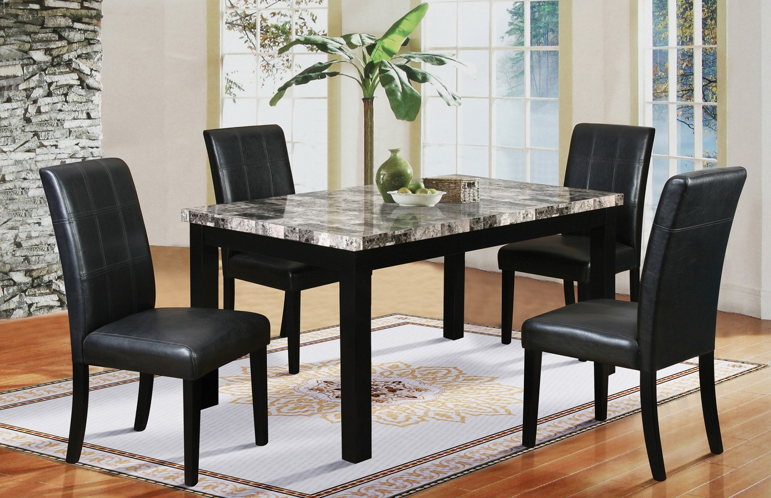 2017 Cora 5 Piece Dining Sets Pertaining To Latitude Run Cahill 5 Piece Dining Set (View 3 of 25)