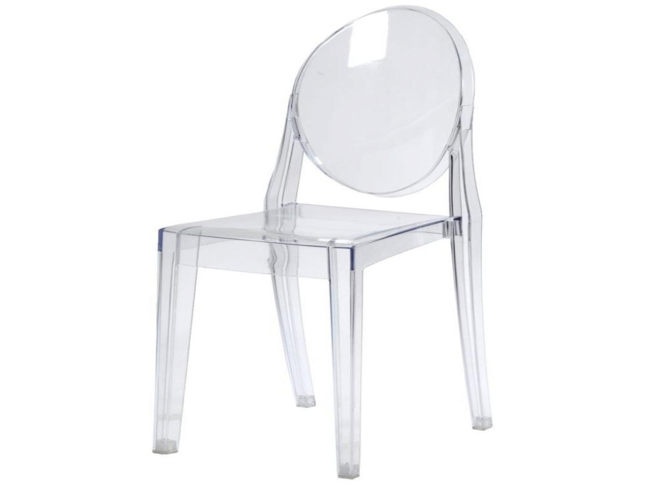 2017 Decoration Ghost Starck Chair Clear Plastic Dining Table And Chairs For Clear Plastic Dining Tables (View 19 of 25)