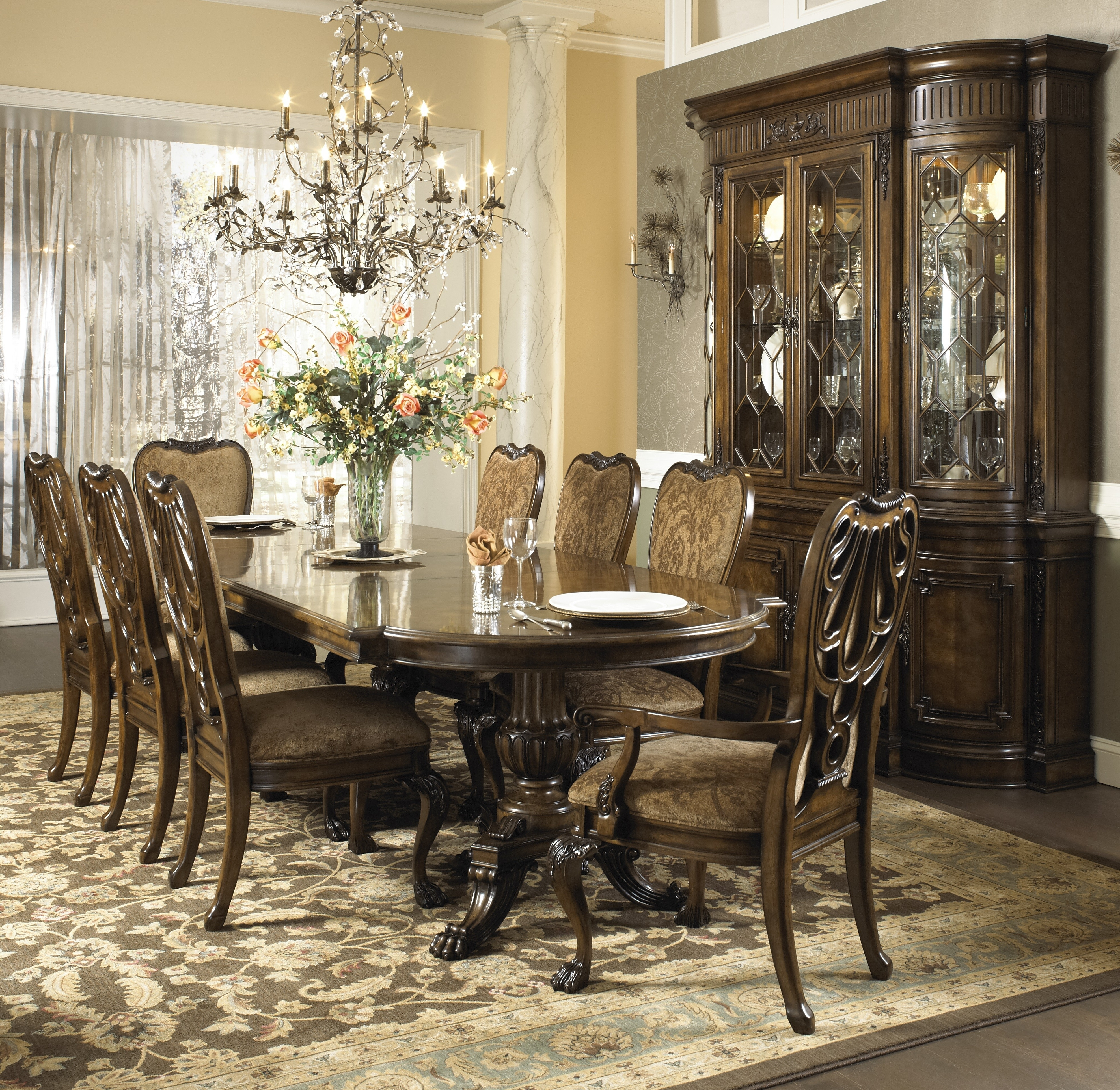 2017 Dining Table Sets Regarding Buy The Belvedere Dining Room Setfine Furniture Design From Www (View 1 of 25)