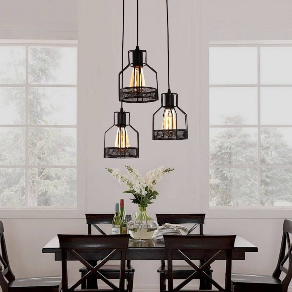 2017 Dining Tables Ceiling Lights Throughout Rustic Kitchen Table Lighting Rustic Dining Table Lighting Cheap (Gallery 22 of 25)