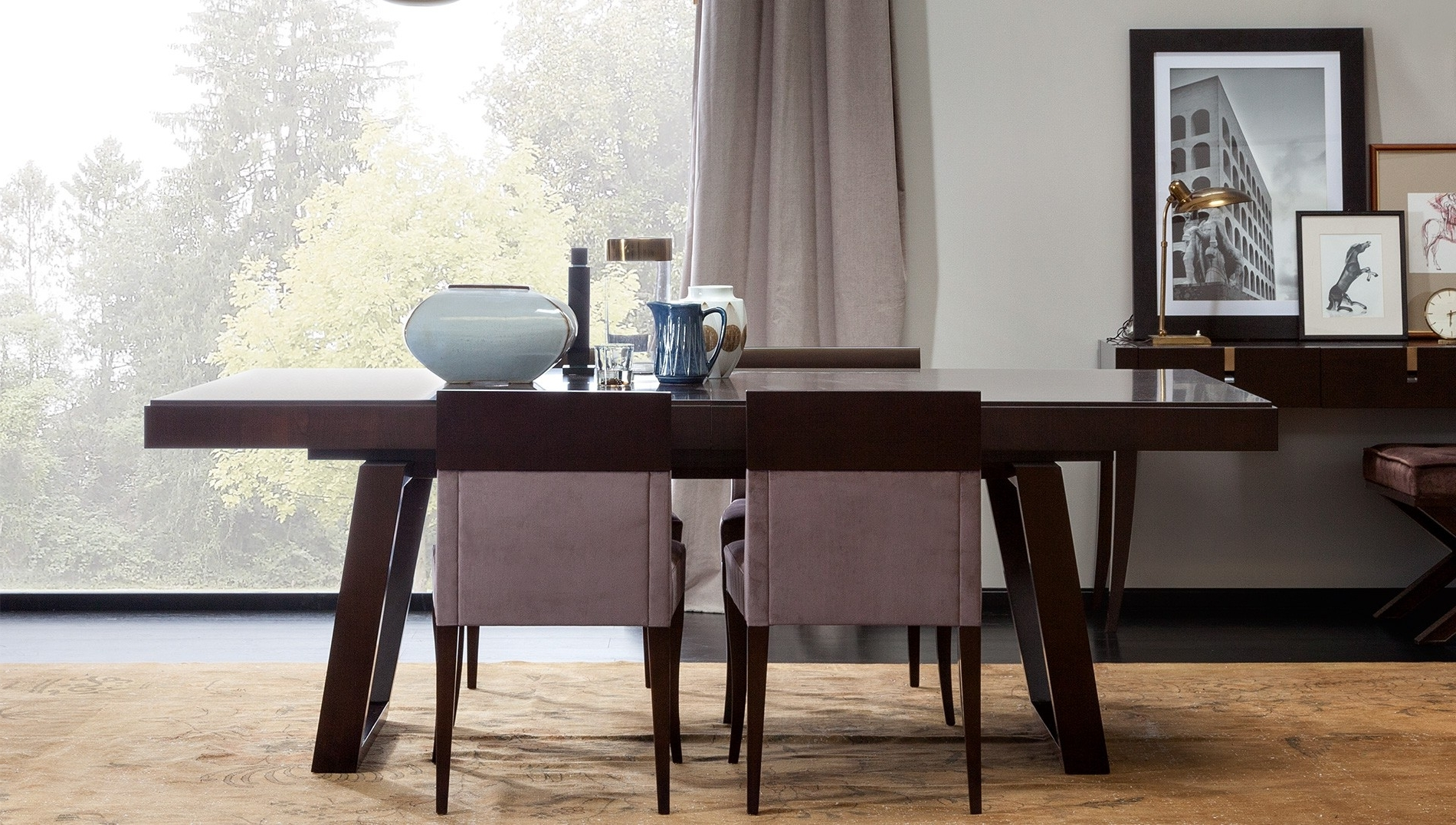 2017 Extendable Dining Tables Sets With Selva, Vendome Extendable Dining Table, Buy Online At Luxdeco (View 1 of 25)