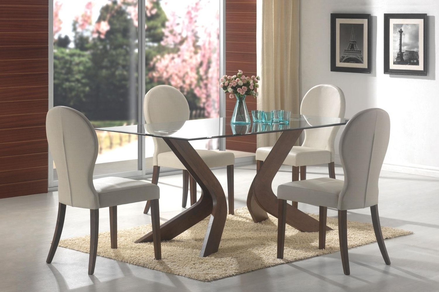 2017 Glass Dining Tables In 3 Essential Considerations When Choosing Glass Dining Room Table (Gallery 6 of 25)
