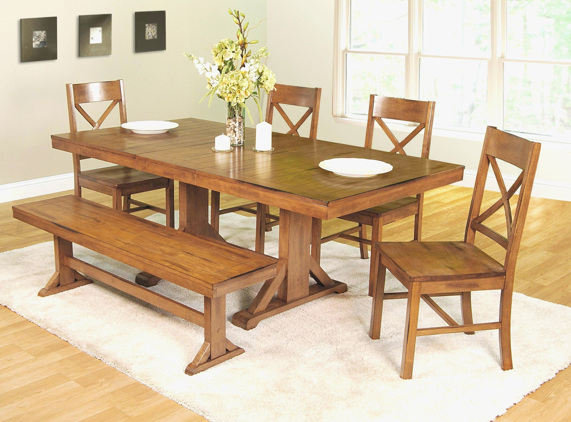 2017 Kitchen Table Bench With Back Elegant Bench Impressive Kitchen Table Throughout Bench With Back For Dining Tables (View 25 of 25)