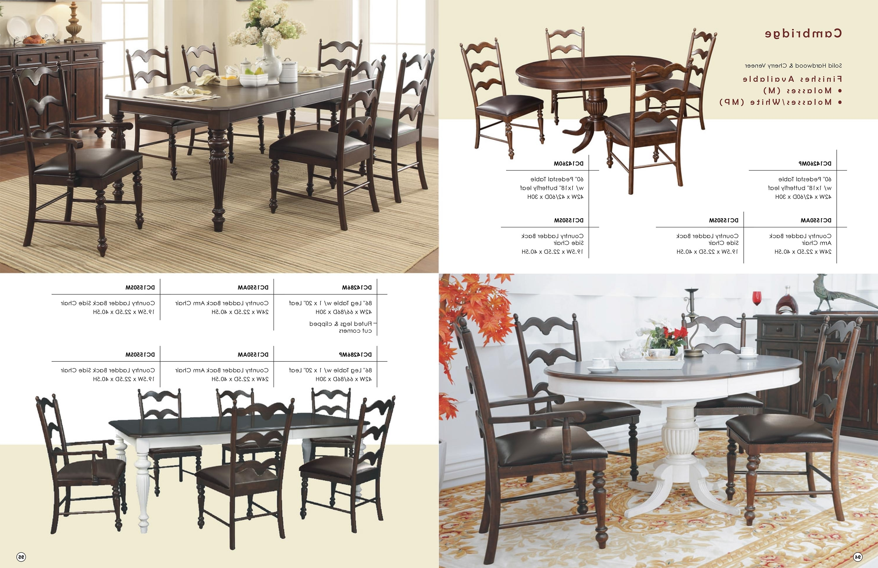 2017 Low Prices • Winners Only Cambridge Dining & Kitchen Furniture Regarding Cambridge Dining Tables (Gallery 17 of 25)