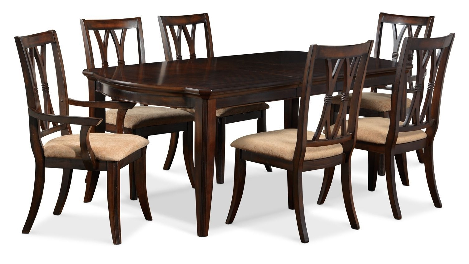 2017 Magnificent 5 Piece Dining Set Wood Breakfast Furniture 4 Chairs And In Leon 7 Piece Dining Sets (Gallery 6 of 25)