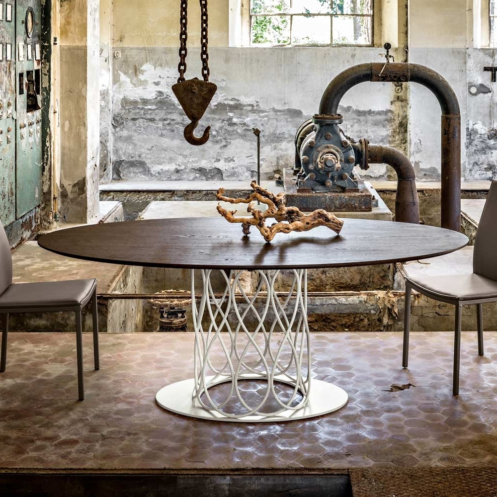 2017 Nora Dining Tables With Dining Table Made Of Thermo Treated Oak Mdf With A Modern Design Nora (View 1 of 25)