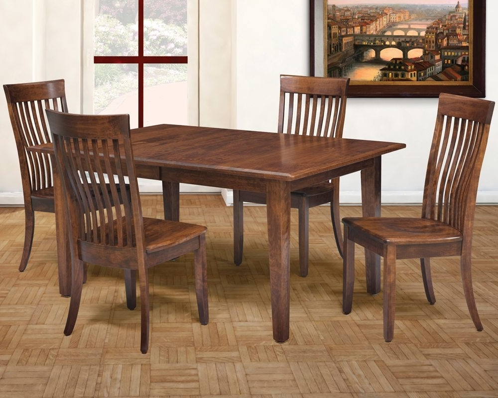 2017 Portland Dining Tables in Portland Dining Table & Chairs Made In Usa