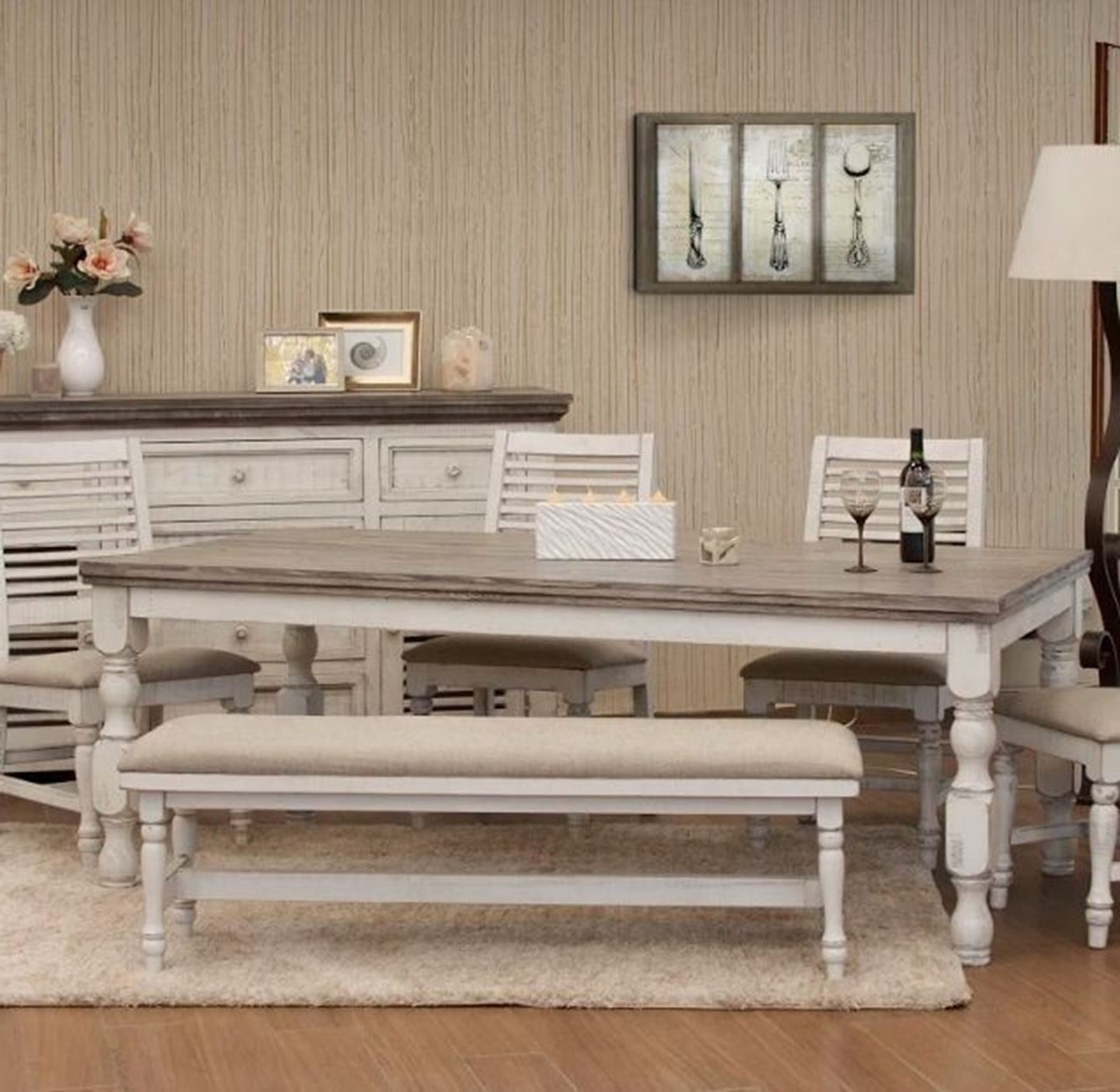 2017 Stone Dining Tables with regard to Stone White Rectangular Dining Table - Woodstock Furniture