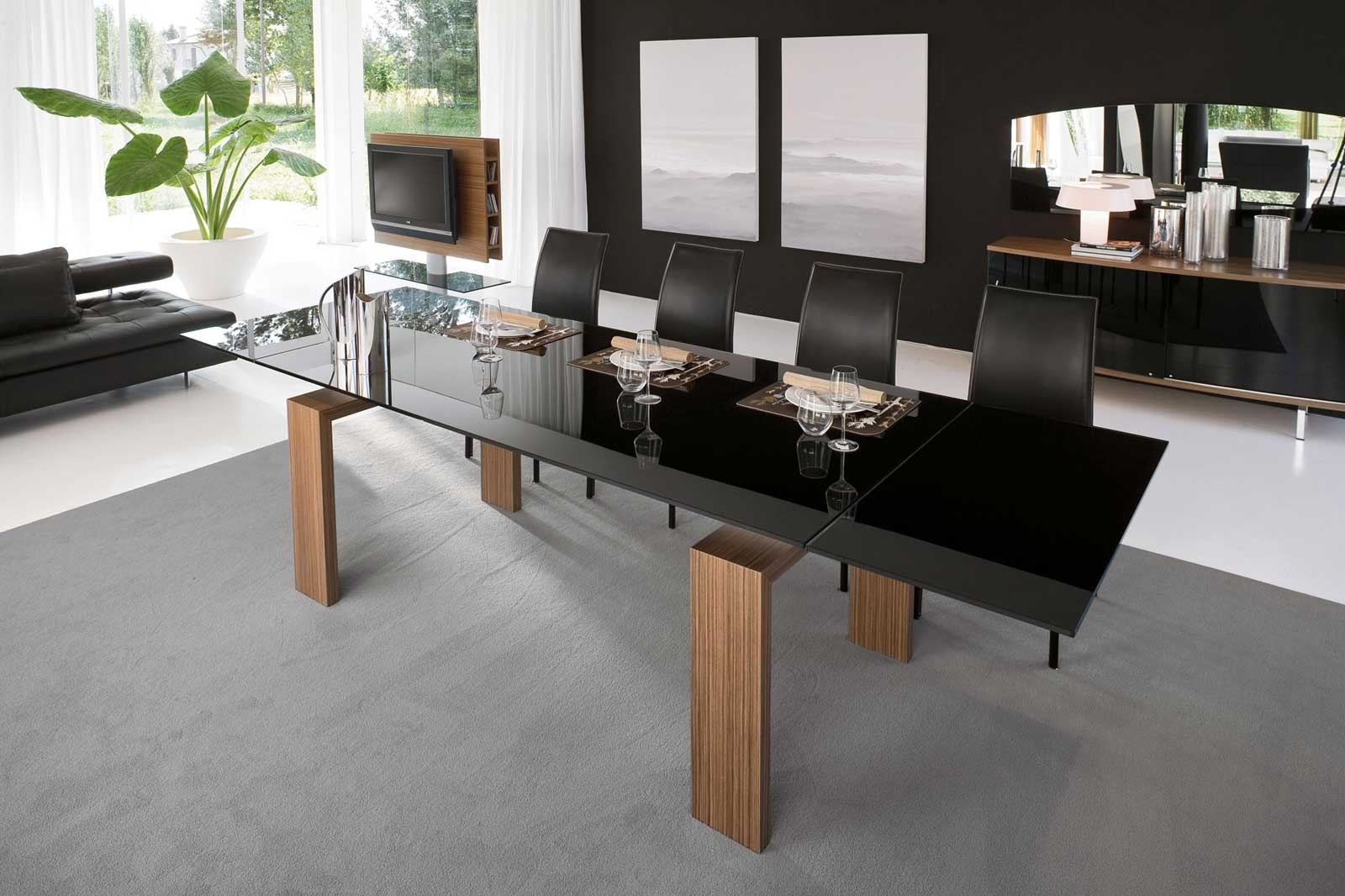 2017 Stylish Contemporary Dining Table Ideas Showing Simple Designs With Regard To Sleek Dining Tables (View 9 of 25)