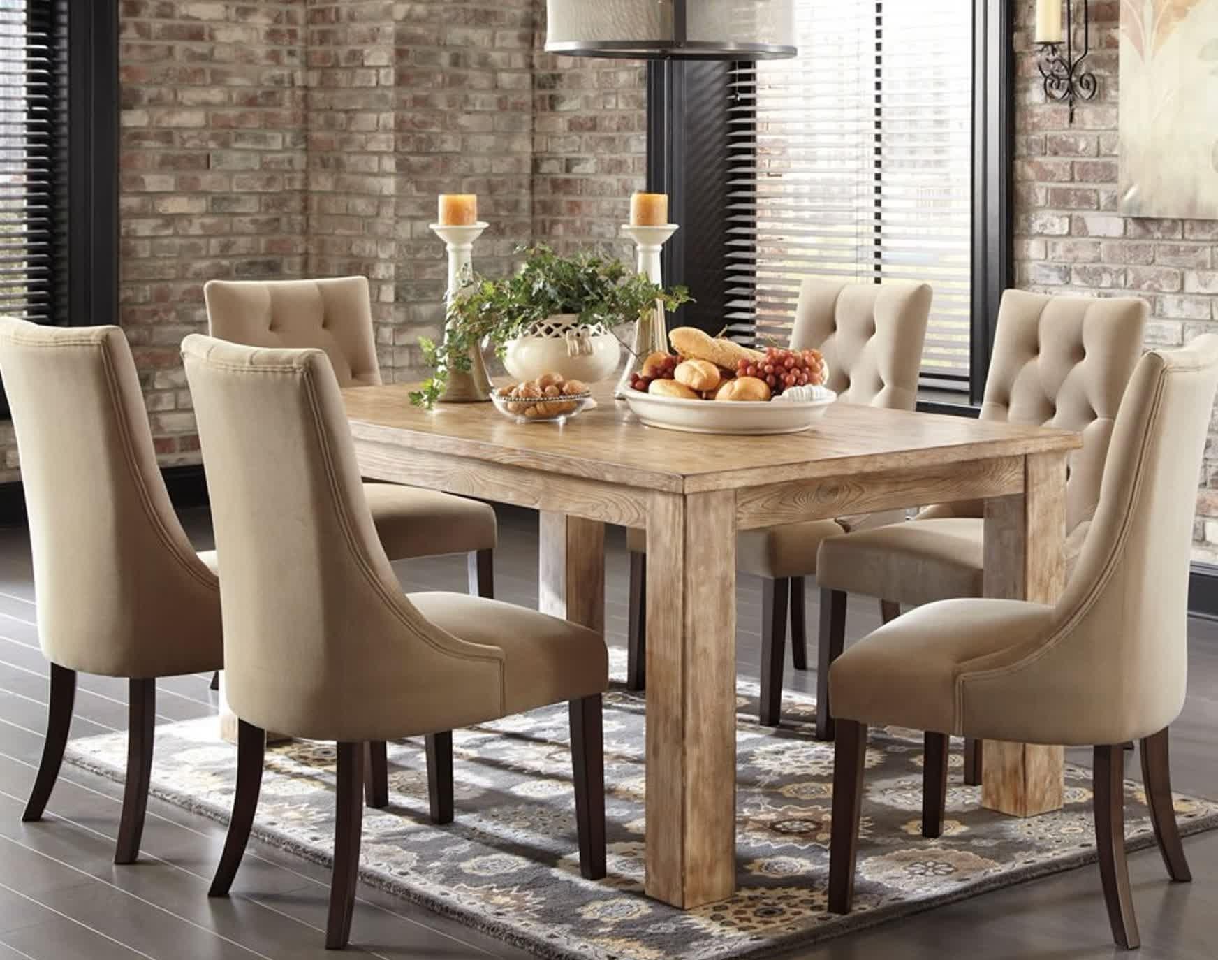 2017 Tavolo E Sedie Per Sala Da Pranzo Foto E Sala Da Pranzo Sala Da Regarding Palazzo 6 Piece Dining Sets With Pearson Grey Side Chairs (View 9 of 25)