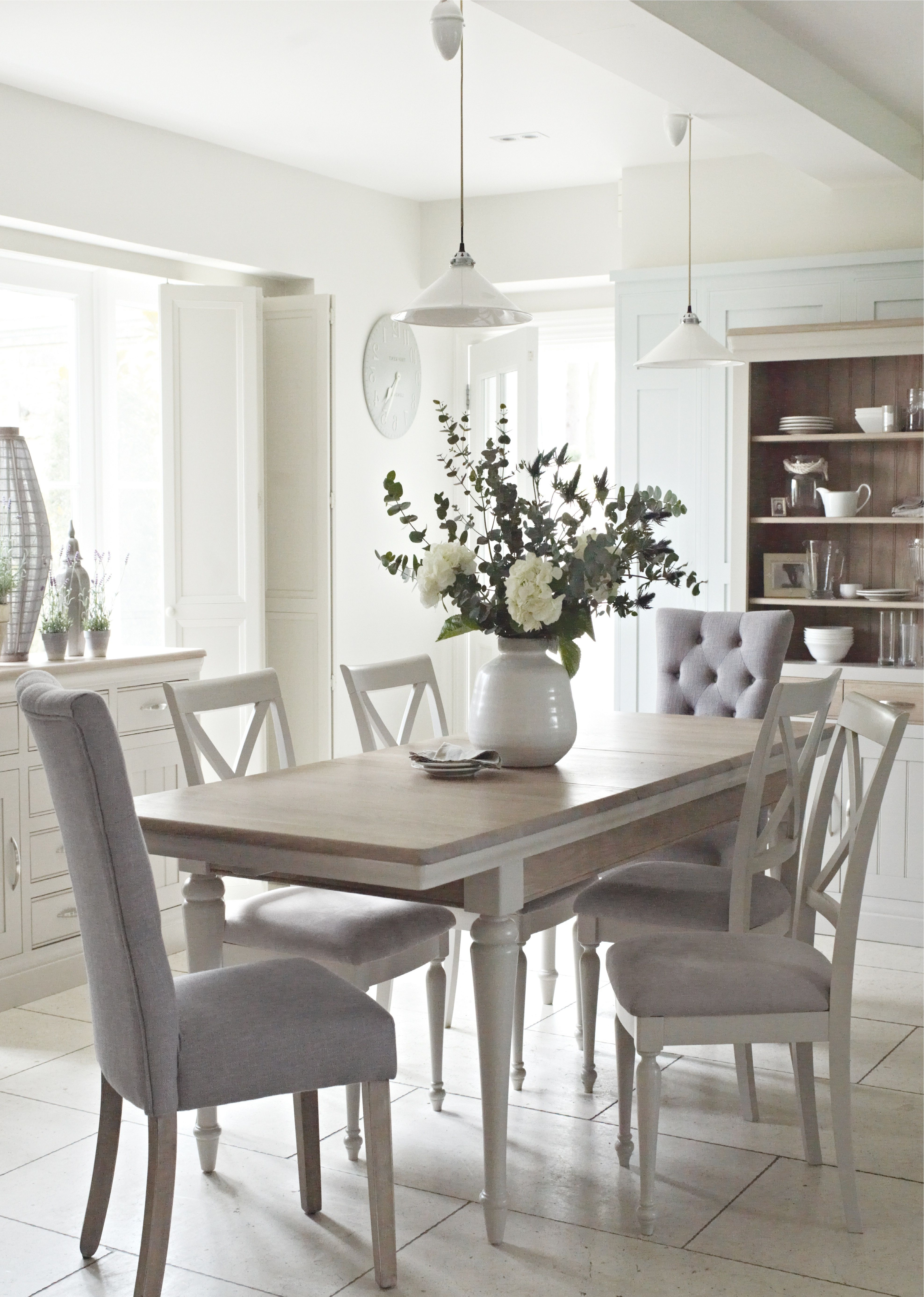 2017 The Classic Bambury Dining Range Just Oozes Country Chic. With A inside Caira 7 Piece Rectangular Dining Sets With Upholstered Side Chairs