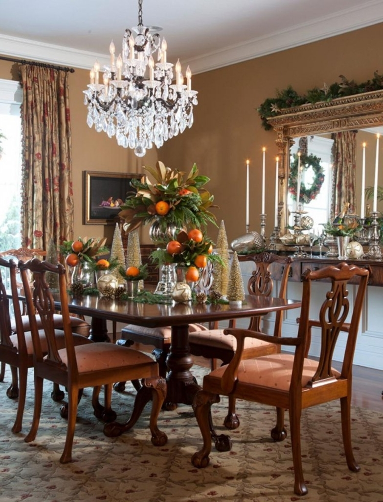 2017 Traditional Dining Tables For 25 Awesome Traditional Dining Design Ideas (View 1 of 25)