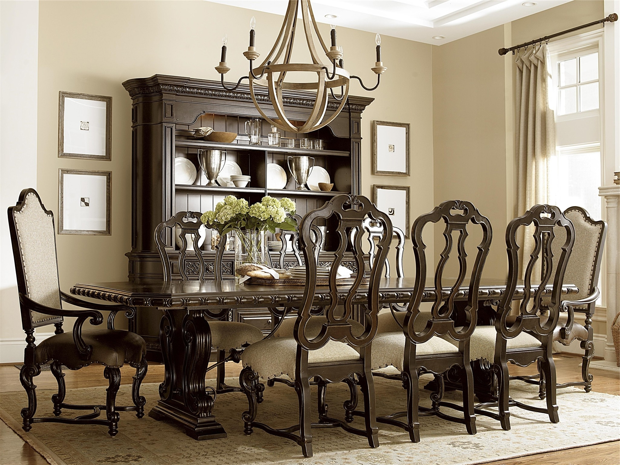 2017 Universal Dining Tables Pertaining To 7. Universal Furniture Dining Table Roomamerican Drew Modern (Gallery 10 of 25)