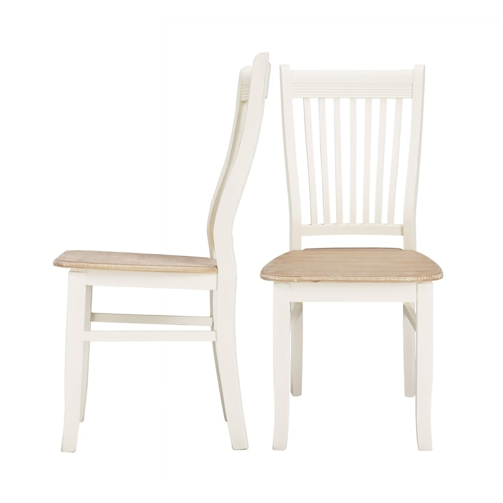 2017 White Dining Chairs Intended For Lpd Furniture Juliette Soft White Dining Chair (Gallery 13 of 25)
