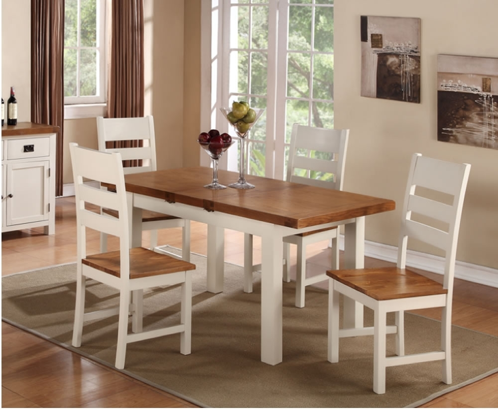 2018 4 Seater Dining Table Sets – Mysmallspace With 4 Seater Extendable Dining Tables (View 1 of 25)