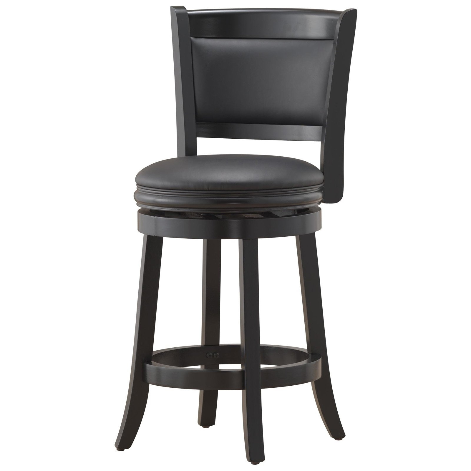 """2018 Augusta Swivel Counter Stool 24"""", Multiple Colors - Walmart in Valencia 4 Piece Counter Sets With Bench & Counterstool"""