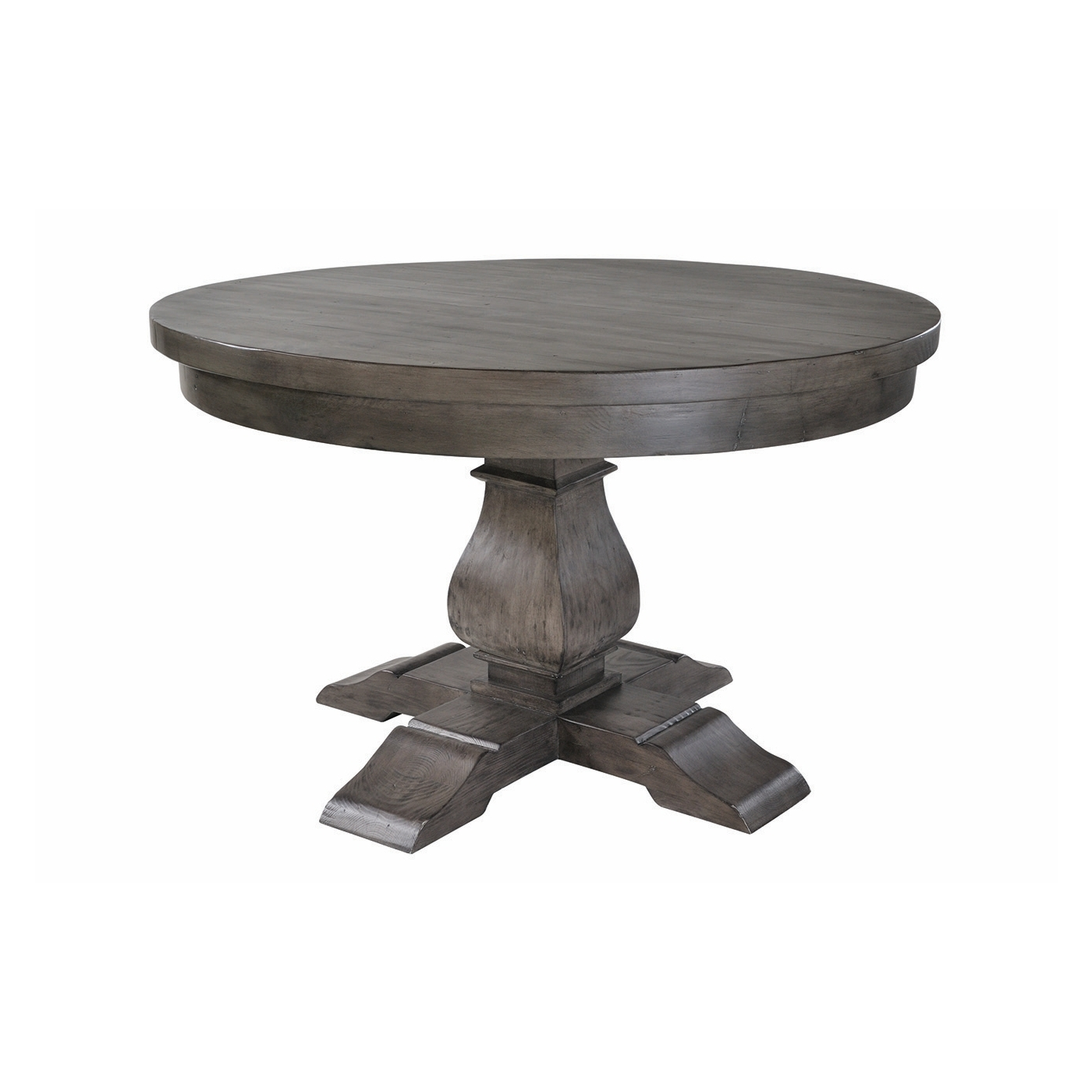 2018 Bradford Dining Tables Pertaining To Solid Dark Wood 130Cm Round Dining Table (View 21 of 25)
