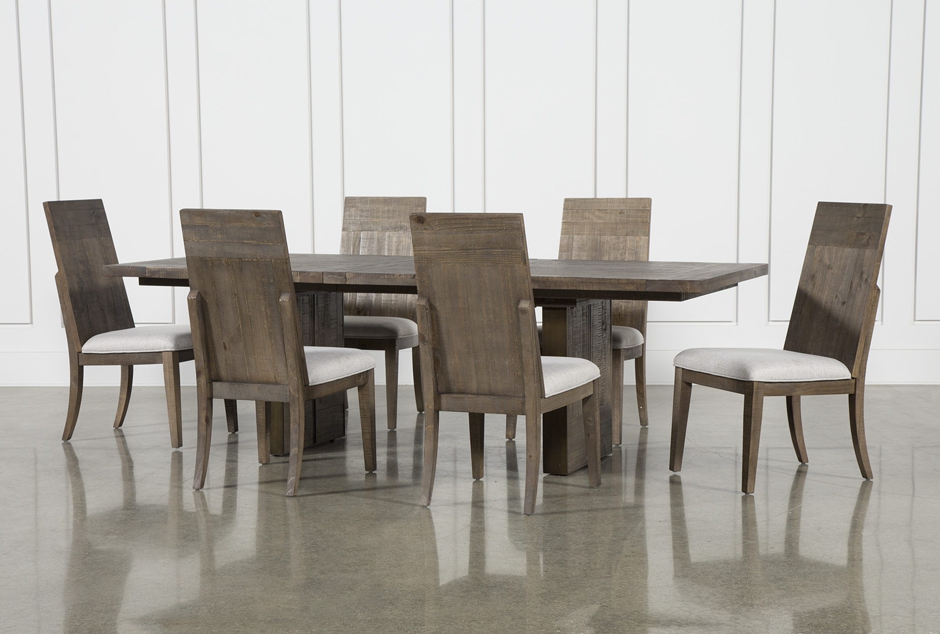 2018 Chandler Fabric Side Chair Within Jaxon Grey 7 Piece Rectangle Extension Dining Sets With Uph Chairs (Gallery 22 of 25)
