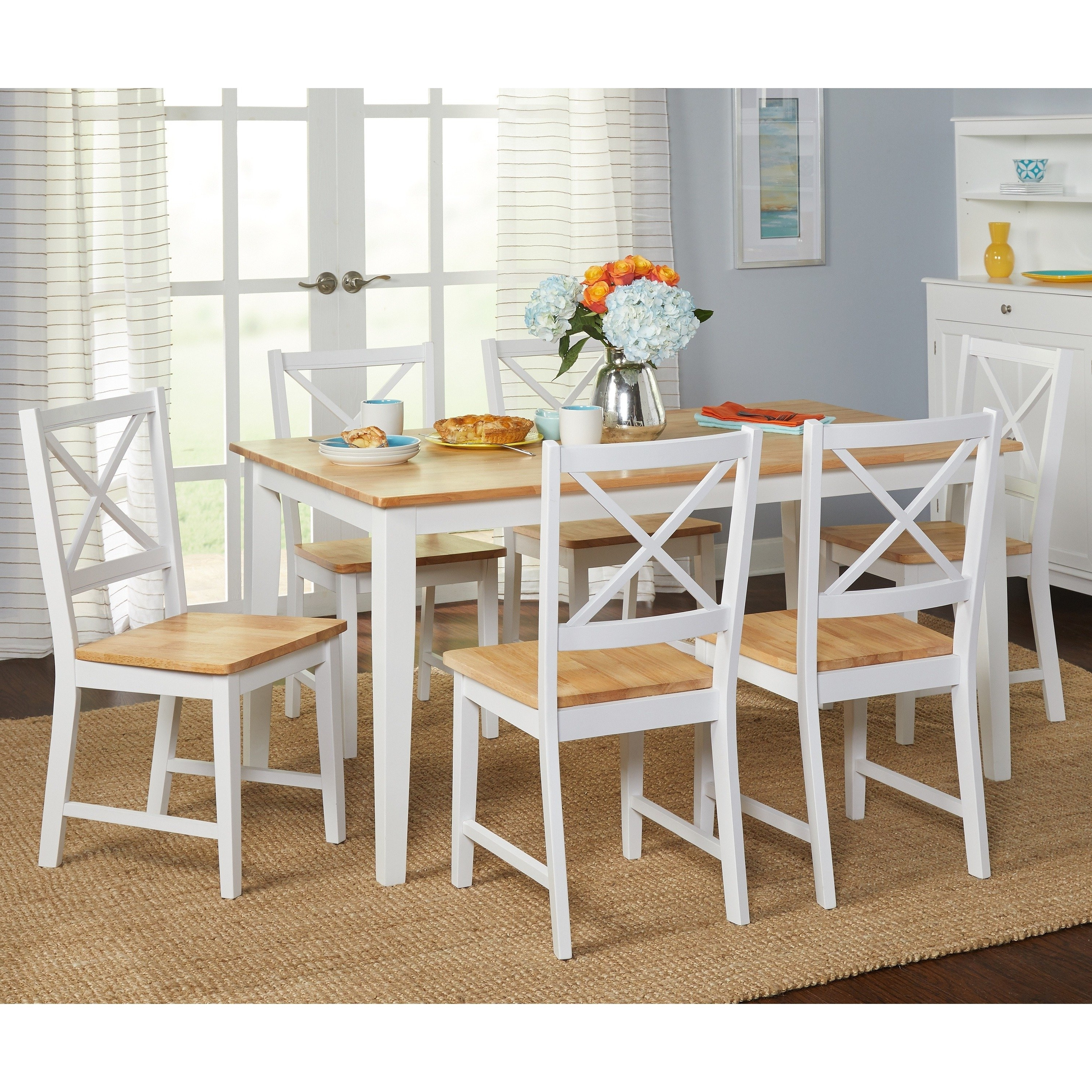 Featured Photo of Cora 7 Piece Dining Sets