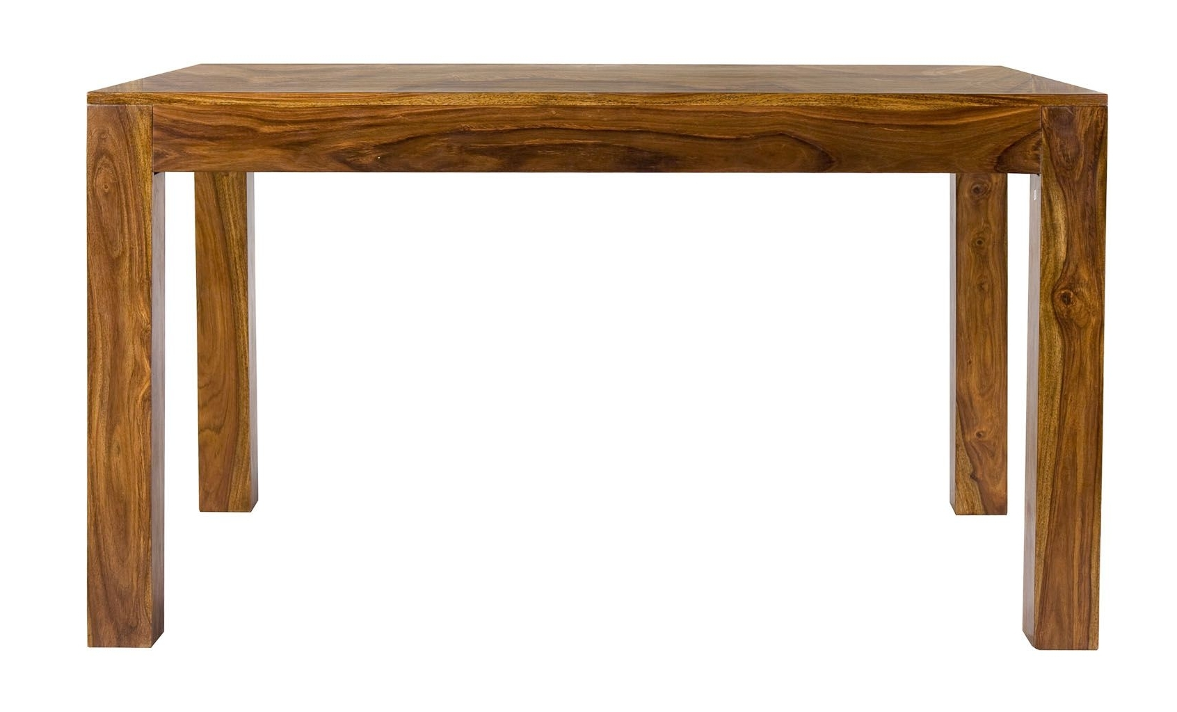 2018 Cube Sheesham Indian Wood Modern 175Cm Dining Table Within Indian Wood Dining Tables (Gallery 18 of 25)