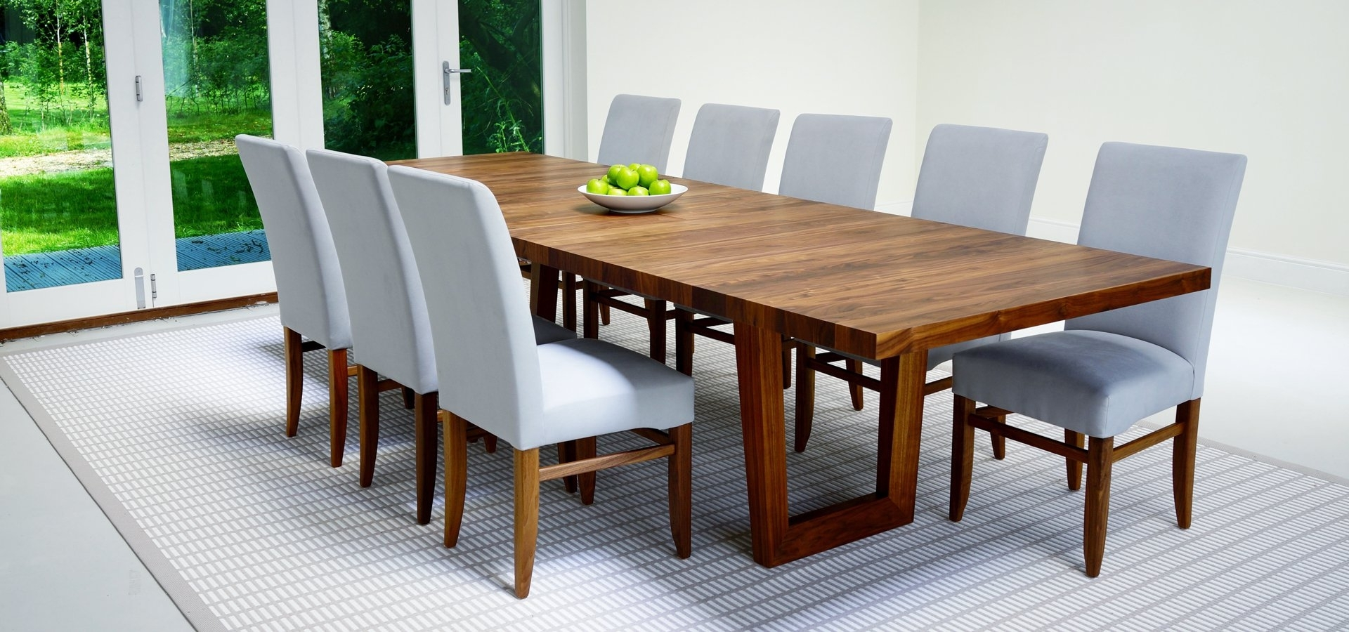 2018 Dark Wood Extending Dining Tables In Contemporary Dining Tables & Furnitureberrydesign (View 12 of 25)