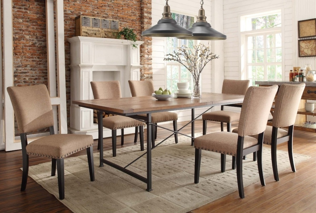 2018 Dining Room Chairs Design Bluehawkboosters Home Design With Dining regarding Fabric Dining Room Chairs