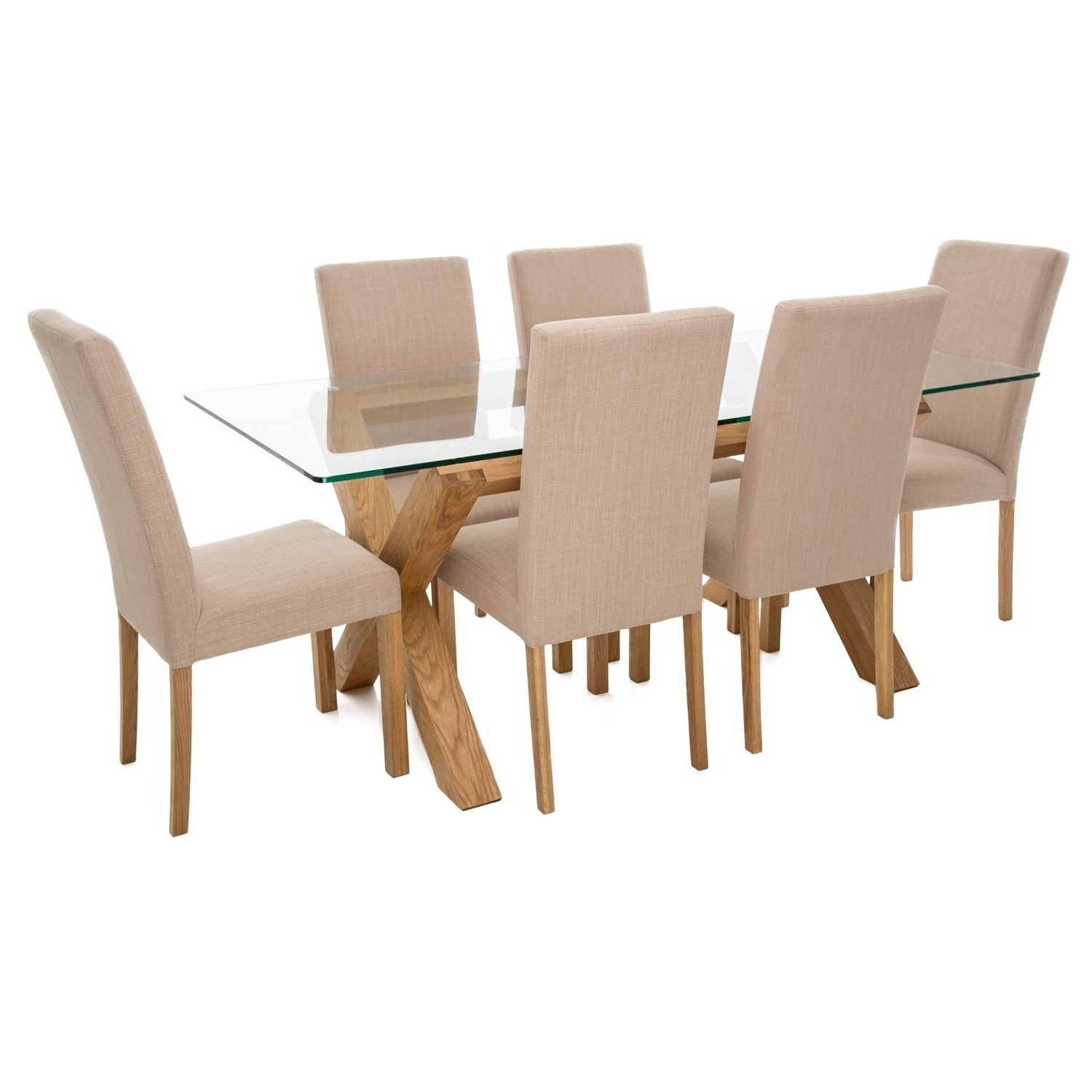 2018 Dining Table And Chairs How Perfect Your Dining Room Can Round Glass with regard to Glass Dining Tables 6 Chairs