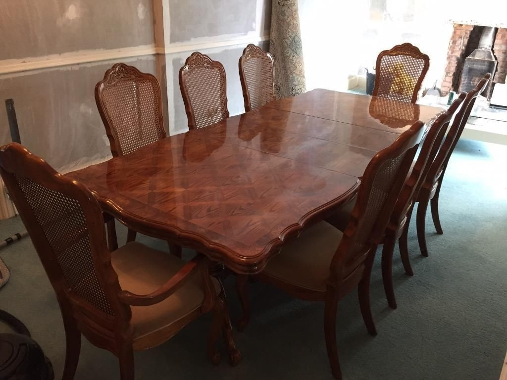 2018 Dining Tables And 8 Chairs In A Dining Table And Four Chairs Might Just Be What Your Home Is (Gallery 2 of 25)