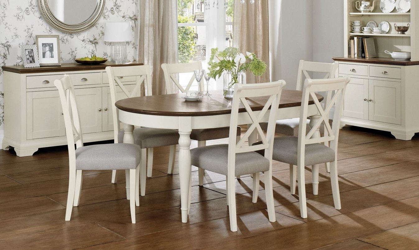 2018 Extendable Dining Table With 6 Chairs – Modern Wood Furniture With Regard To Preferred Extendable Dining Tables With 6 Chairs (Gallery 10 of 25)